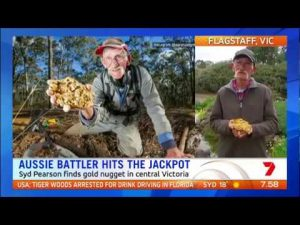 Man finds AUD $300,000 gold nugget with a Minelab GPX Series detector